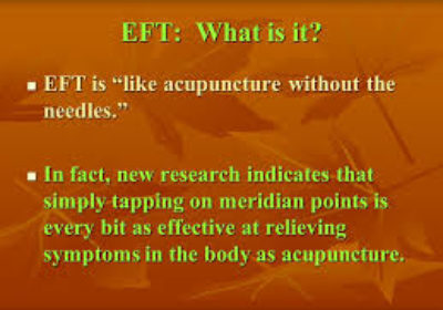 Tapping Meridian Emotions – EFT Point Specificity